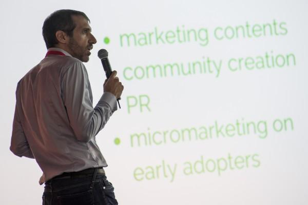 Fintech Stage: Pietro Cesati, CEO e Founder, durante il pitch Soisy