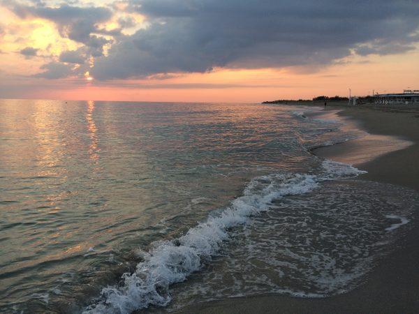 Il mare dell'ultimo retreat in Salento