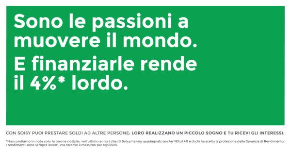 Pubblicità Soisy per Corriere Economia: investimenti smart