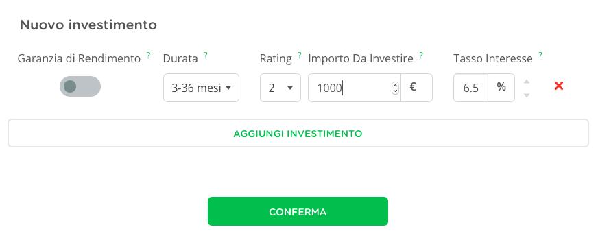 variabili da scegliere per investire