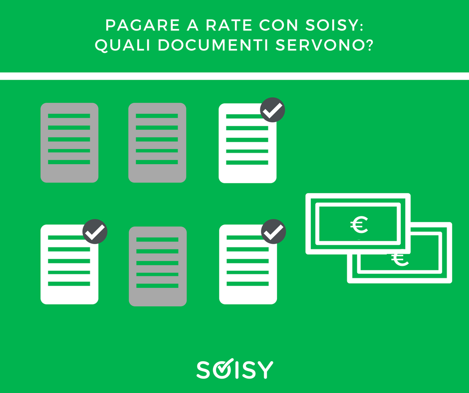rateizzazione Soisy: quali documenti servono?