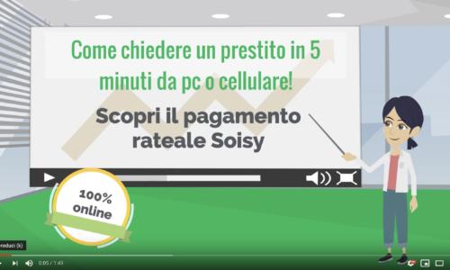 pagamento rateale Soisy: scopri quanto è semplice nel nostro video