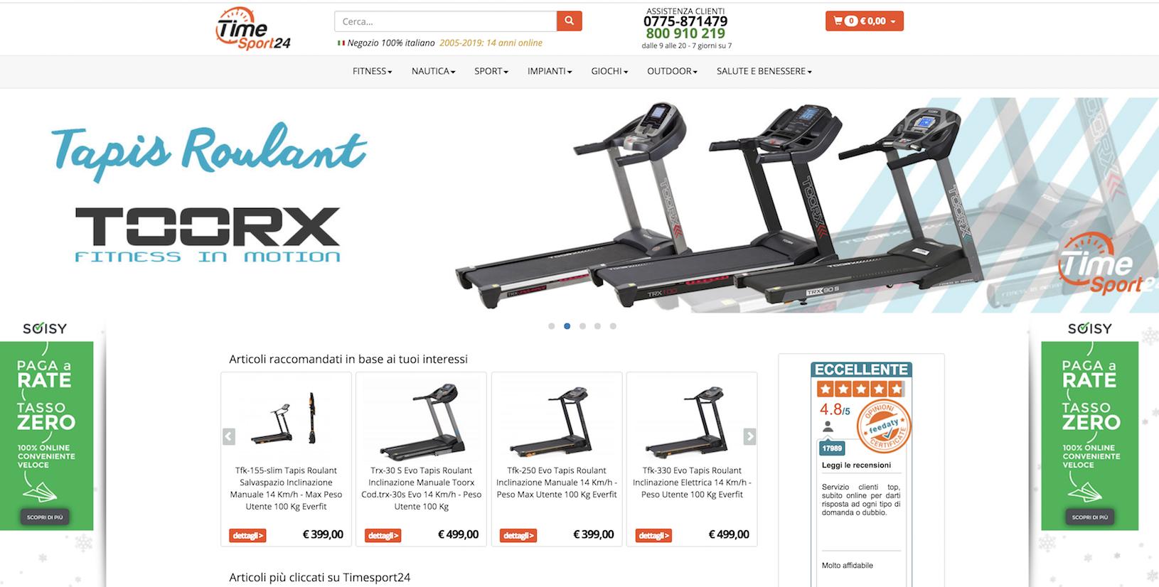 pagamento rateale Soisy: inserisci i nostri banner in homepage