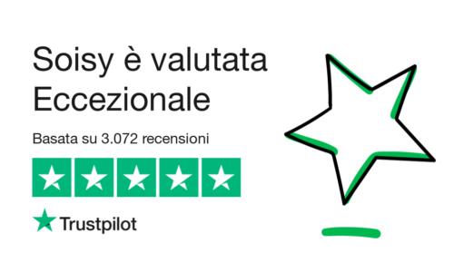 Opinioni recensioni Soisy su Trustpilot